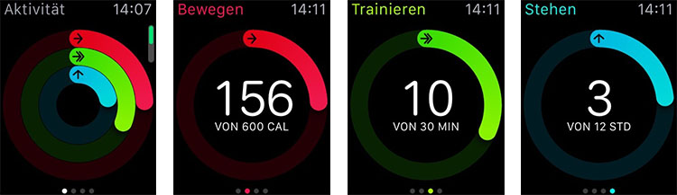 Apple Watch Aktivity App